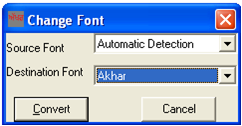 Punjabi Font Conversion